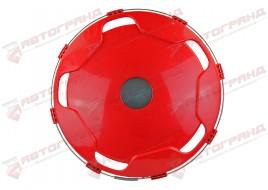 Колпак колесный защитный (красный, задний универсальный R22.5)