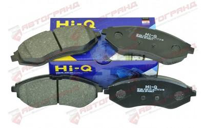 Колодки тормозные AVEO 1,5 передняя (к-кт 4 шт) Hi-q