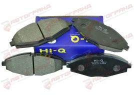 Колодки тормозные Lanos передние (к-кт 4 шт) Hi-q