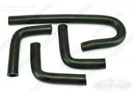Патрубки системы отопителя ГАЗ 31105 (Chrysler дв) (патрубки печки) (к-кт 4 шт) Балаково