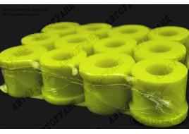 Втулка рессоры УАЗ 469, 3151 полиуретан желтый (к-кт 12 шт)