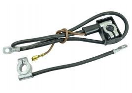 Клеммы с проводами (+/-) АКБ 2103 (коричневые короткие) Украина