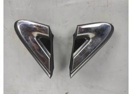 Молдинг крыла Hyundai Santa Fe 4 2.2 D (2018-нв) переднего уголок (к-кт 2 шт)  оригинал б/у