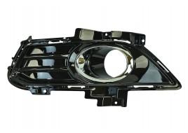 Окантовка противотуманной фары левая Ford Mondeo 5 (2013-2016) черная глянцевая