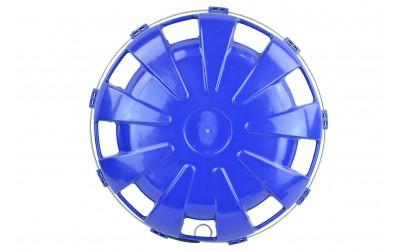 Колпак колесный пластик уневерсальный задний R22.5 синий