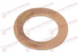 Шайба медная 2101-2107, 2121-21214 под болт тормозного шланга (М10 х16 х1,0) БелЗАН