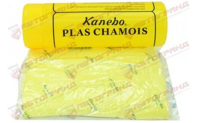 Тряпка прорезиненная влаговпитывающая замшевая 60*43см Канебо