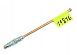 Трубка тормозная ГАЗ 3302, 3110, 24, 2410 (д.5) 15 см от шланга к тройнику передних тормозов (Медь)