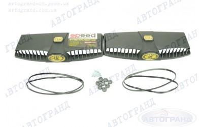 Воздухозаборник 2101-2107 с уплотнителем золотой овал (к-кт 2 шт) SUPER AIR