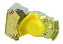 Пневмосоединение с клапаном M22x1.5 (желтое)