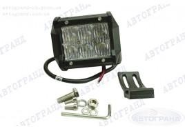 Дополнительная светодиодная фара дальнего света 6 Led с линзой 5D