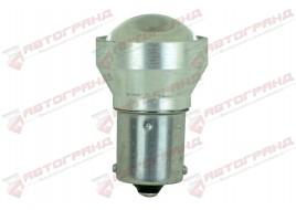 Лампа светодиодная P21W R5W BA15S 6SMD (линза) 12/24V (одноконтактная)