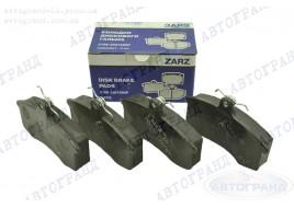 Колодки тормозные 2108, 2109, 21099, 2113-2115, передние (к-кт 4 шт) ЗАРЗ