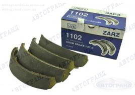 Колодки тормозные 1102, 1103, 1105 задние (к-кт 4 шт) ЗАРЗ