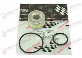 Фильтр грубой очистки газа с уплотнительными кольцами и металл.сеткой GUMEX