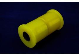 Сайлентблок рессоры ГАЗ 3302 Бизнес, Валдай  полиуретан желтый (2 втулки, металлическая трубка)