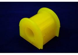 Втулка штанги заднего стабилизатора ГАЗ 3302, 2705 (полукругл) полиуретан желтый
