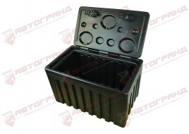 Ящик для инструмента ( усиленный на два замка) ЗІП грузовой 800X500X450 (сундук) 80L