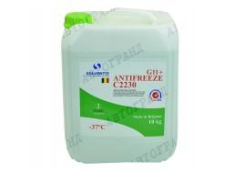 Антифриз -37°С зеленый10л Solventis