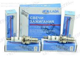 Свечи зажигания 2108, 2109, 21099, 2110-2115 инжектор (8 кл дв) (А17ДВРМ 1,0 к-кт 4 шт) АвтоВАЗ