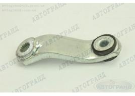 Рычаг переключения КПП УАЗ 452 (флажок кулисы) кривой, новый образец (УАЗ) усиленный