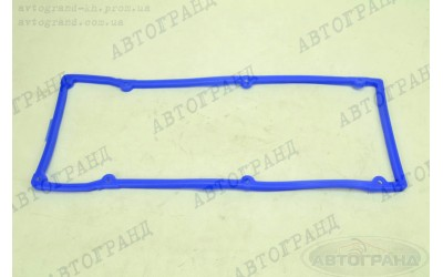 Прокладка клапанной крышки ГАЗ 3302 (ЗМЗ 406 дв) (синий) силикон Балаково