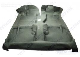 Покрытие пола 2108, 2109, 21099 с основой черный (ковёр салона) ДЭЛ