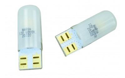 Светодиодная лампа LED 18074-02B W5W 12V W2,1x9,5d  0,6W 6000K Narva