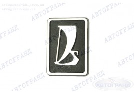 Эмблема 2108, 2109, 21099 (заводской знак) пластик на креплении