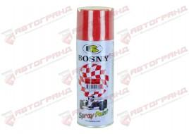Краска аэрозольная акриловая 400ML SIGNAL RED 23 BOSNY