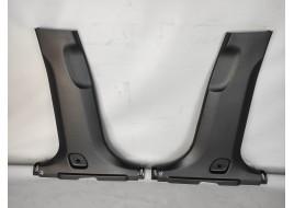 Облицовка центральной стойки Hyundai Santa Fe 4 2.2 D (2018-нв) нижняя (к-кт 2 шт) оригинал б/у