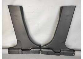 Облицовка центральной стойки Mitsubishi Outlander 3 PHEV 2.4 G (2013-нв) нижняя (к-кт 2шт) оригинал б/у