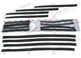 Уплотнитель стекол 2101, 2103, 2106 верхний (бархотка) (к-кт 16 шт) ПТИМАШ