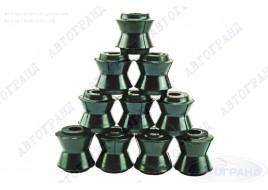Втулки реактивных штанг 2101 4/6 (резиновые) (к-кт 10 шт) АМТ