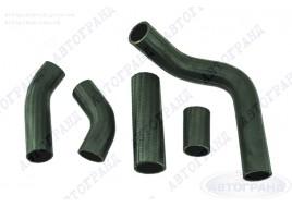 Патрубки системы охлаждения ГАЗ 3302 (402 дв) (патрубки радиатора) (к-кт 5 шт) АМТ