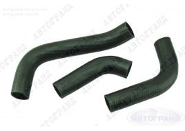 Патрубки системы охлаждения ГАЗ 3302 Бизнес (4216 дв) (патрубки радиатора) (к-кт 3 шт) АМТ