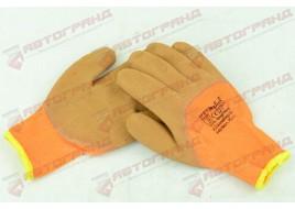 Перчатки трикотажные с латексным покрытием размер 10