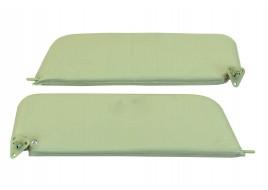 Козырьки противосолнечные 2103, 2106 мягкие (серые) (к-кт 2 шт)