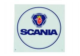 Наклейка люмінесцентна D100MM з логотипом SCANIA