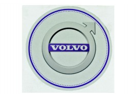 Наклейка люмінесцентна D100MM з логотипом VOLVO