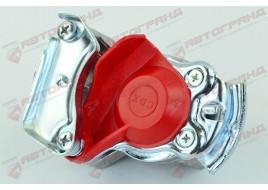 Пневмосоединение без клапана M22x1.5 (красное) SERTPLAS