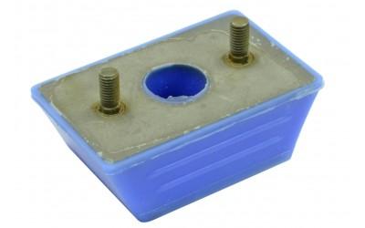 Подушка двигателя ГАЗ 3302, 2705 передняя (силикон) синий ПТП
