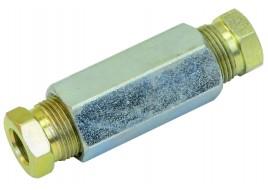 Соединитель 8-8 мм для медной трубки в сборе ATIKER