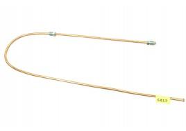 Трубка тормозная ГАЗ 53, 3307, 66, УАЗ (д.6)100 см от тройника к переднему тормозу (Медь)