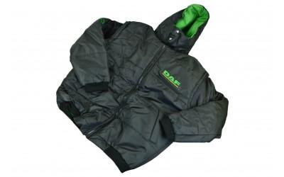 Куртка жилет с капюшоном DAF XXXL (новая, черная)