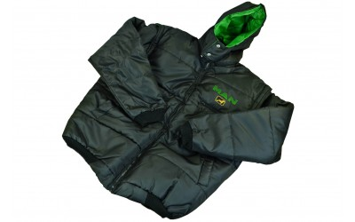 Куртка жилет с капюшоном MAN XL (новая, черная)