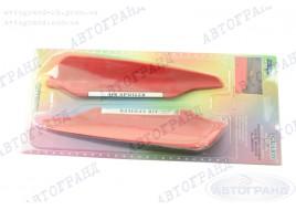 Спойлерок дворника красный с наклейками (к-кт 2 шт)