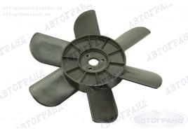 Крыльчатка радиатора 2101-2107, 2121 6-ти лопастная черная (пластиковые втулки)