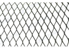 Сетка для рамки номерного знака метал черная №2