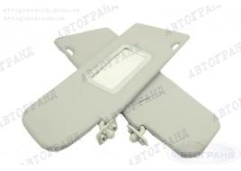 Козырьки противосолнечные 2123 жесткие с зеркалом (новый образец) (к-кт 2 шт)